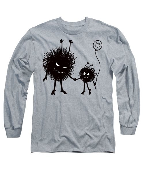 Evil Bug Mother And Child Long Sleeve T-Shirt