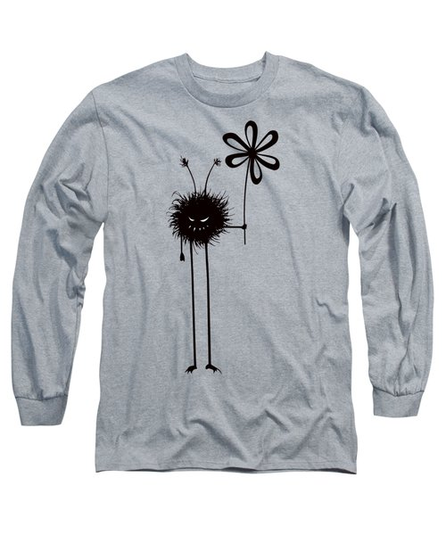 Evil Flower Bug Long Sleeve T-Shirt