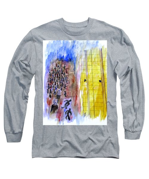 Evil In Action, Las Vegas Long Sleeve T-Shirt