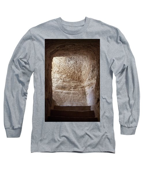 Exit To The Light Long Sleeve T-Shirt by Yoel Koskas