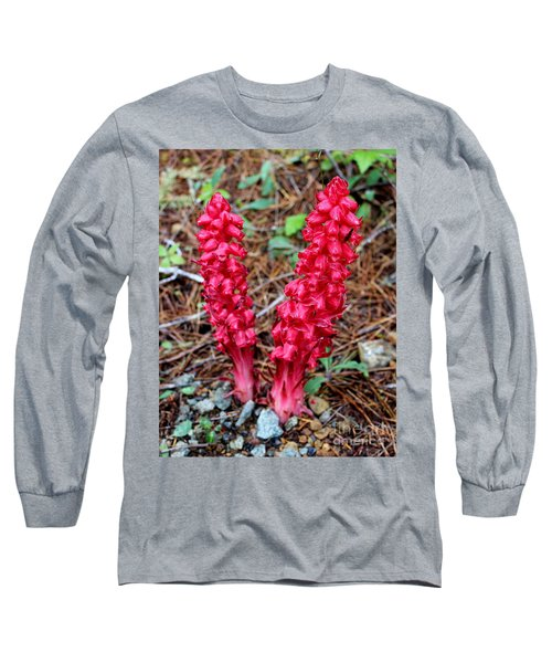 Long Sleeve T-Shirt featuring the photograph Exotic Flower Or  by Marie Neder