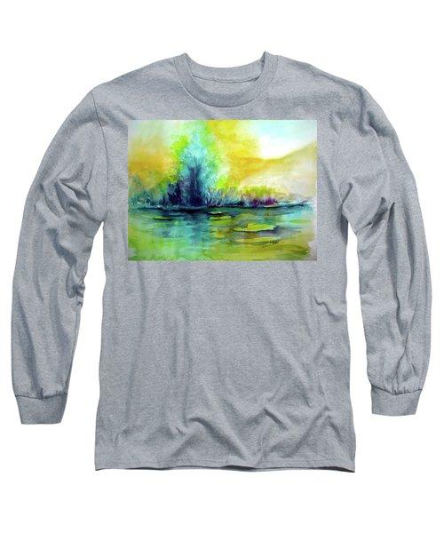Expressive Long Sleeve T-Shirt by Allison Ashton