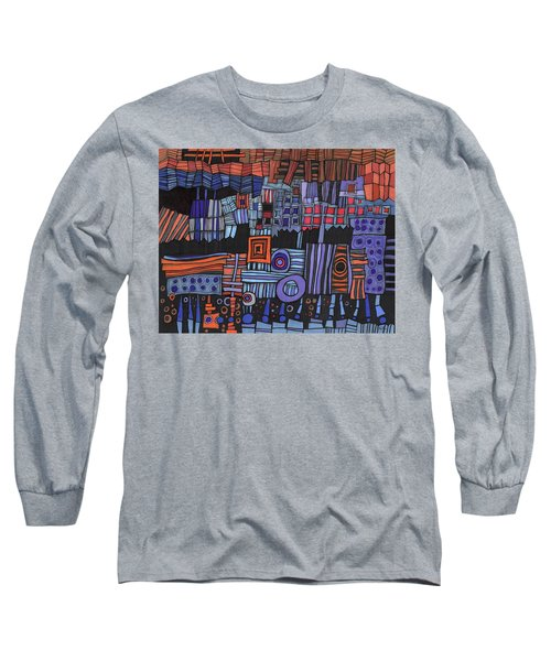 Exterior Facade Long Sleeve T-Shirt