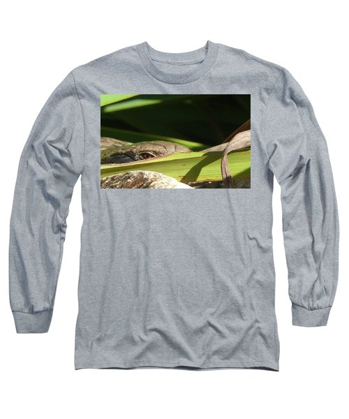Eye Contact Long Sleeve T-Shirt by Evelyn Tambour