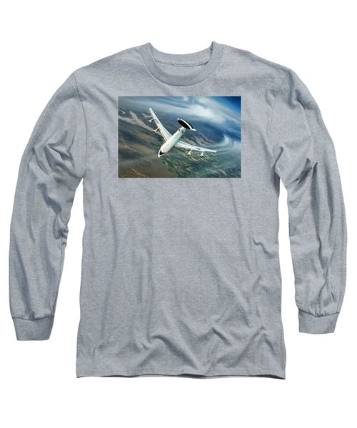 Eye In The Sky Long Sleeve T-Shirt by Peter Chilelli