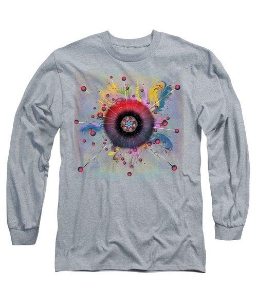 Eye Know Light Long Sleeve T-Shirt by Iowan Stone-Flowers
