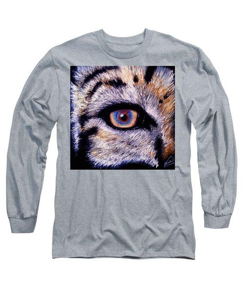 Eye Of A Tiger Long Sleeve T-Shirt