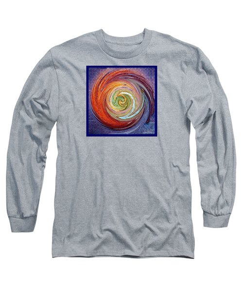 Eye Of The Storm Long Sleeve T-Shirt by Sue Melvin