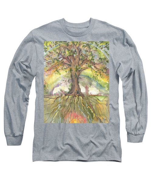 Eye See My Healing Tree Long Sleeve T-Shirt