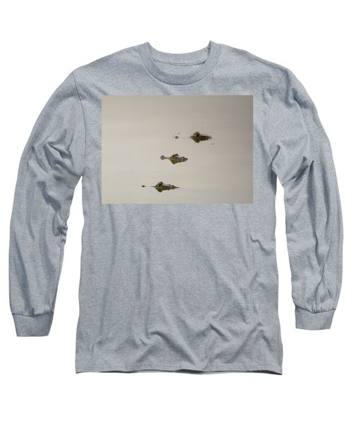 Long Sleeve T-Shirt featuring the photograph Eye Spy by Alex Lapidus