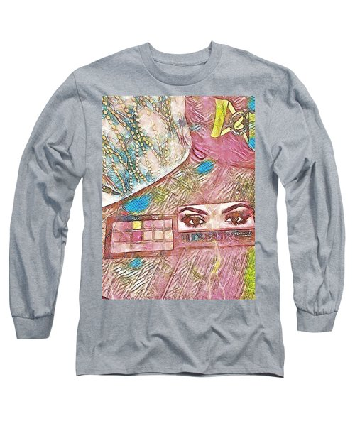 Long Sleeve T-Shirt featuring the photograph Eyes by Jason Lees