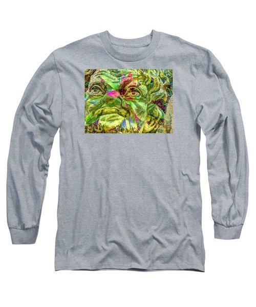 Eyes Long Sleeve T-Shirt by Yury Bashkin
