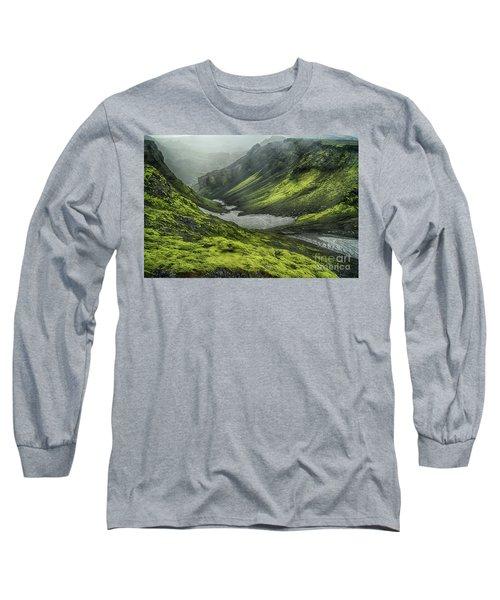 Eyjafjallajokull Iceland 4 Long Sleeve T-Shirt