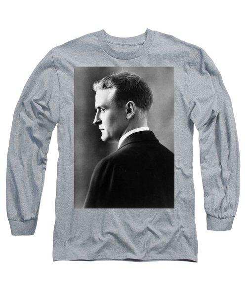 F. Scott Fitzgerald Circa 1925 Long Sleeve T-Shirt