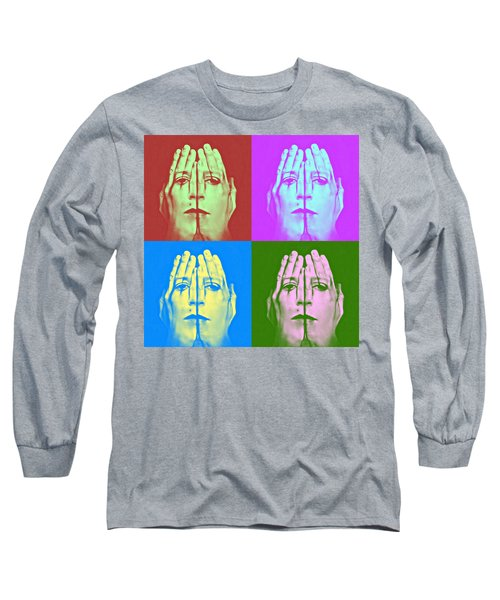 Face Art Long Sleeve T-Shirt