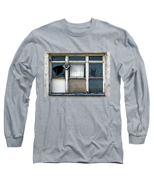 Factory Windows Long Sleeve T-Shirt by Ethna Gillespie