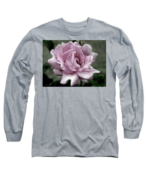 Faded Beauty Rose 0226 H_2 Long Sleeve T-Shirt