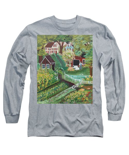 Fairview Farm Long Sleeve T-Shirt by Virginia Coyle