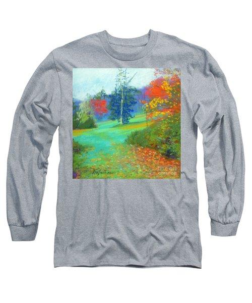 Fall Across The Field  Long Sleeve T-Shirt