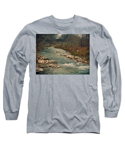 Fall Along The River Long Sleeve T-Shirt