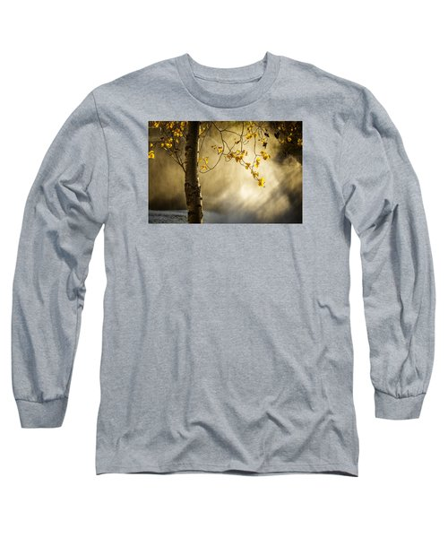 Fall And Fog Long Sleeve T-Shirt by Celso Bressan