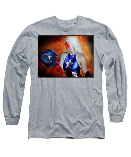 Fall And Rise Of A Hero Long Sleeve T-Shirt