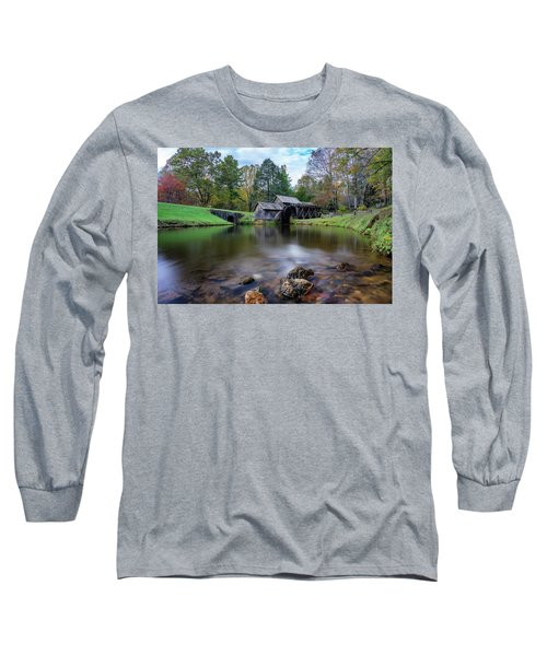 Fall At Mabry Mill Long Sleeve T-Shirt