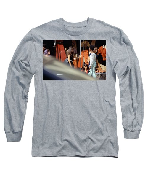 Fall Colors And Bus Riders Long Sleeve T-Shirt
