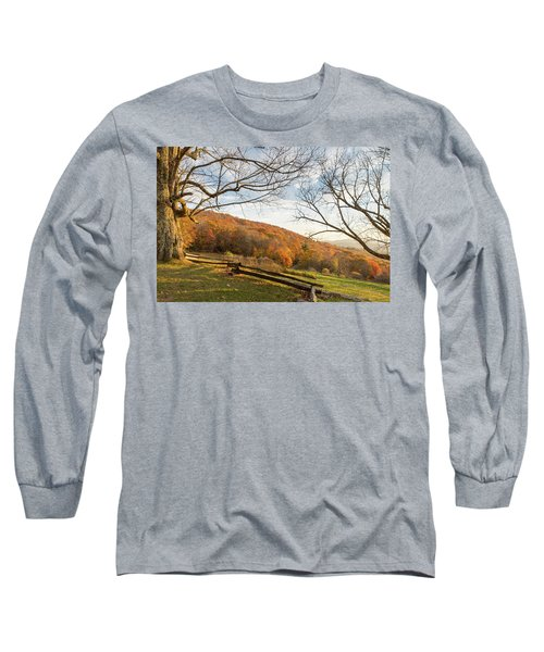 Fall Colors At The Moses Cone Estate Long Sleeve T-Shirt