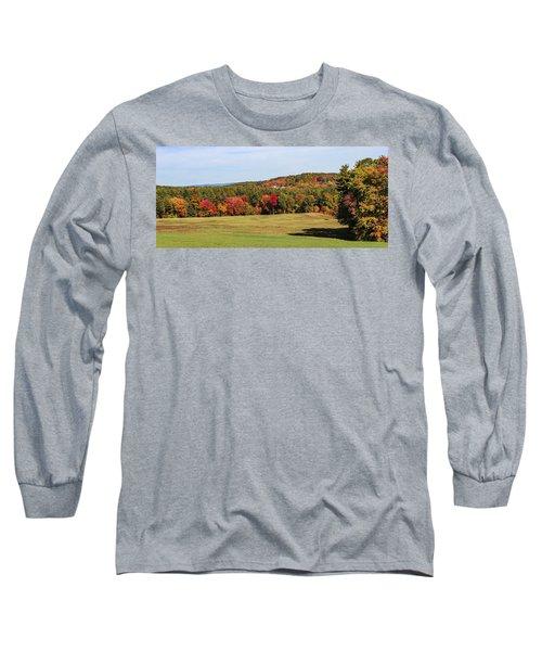 Fall Colors In Easthampton Long Sleeve T-Shirt