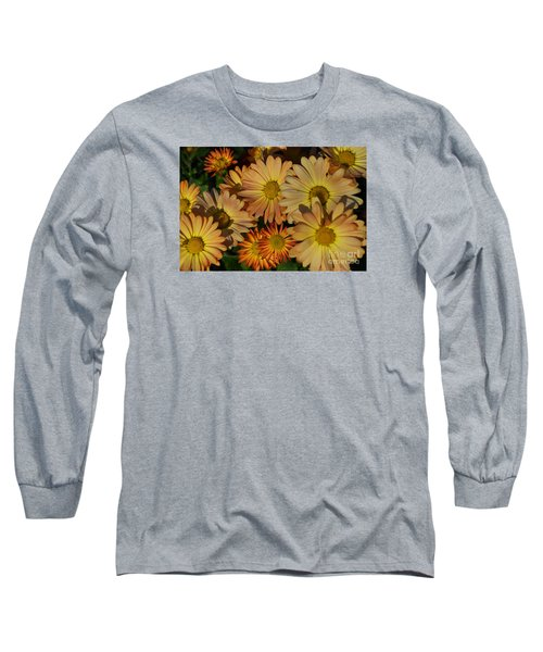 Fall Flowers In Madison  Long Sleeve T-Shirt
