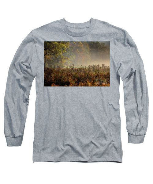 Long Sleeve T-Shirt featuring the photograph Fall In Cades Cove by Douglas Stucky