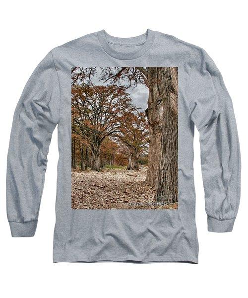 Fall In Texas  Long Sleeve T-Shirt