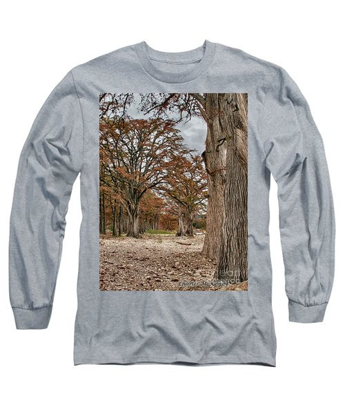 Fall In Texas  Long Sleeve T-Shirt