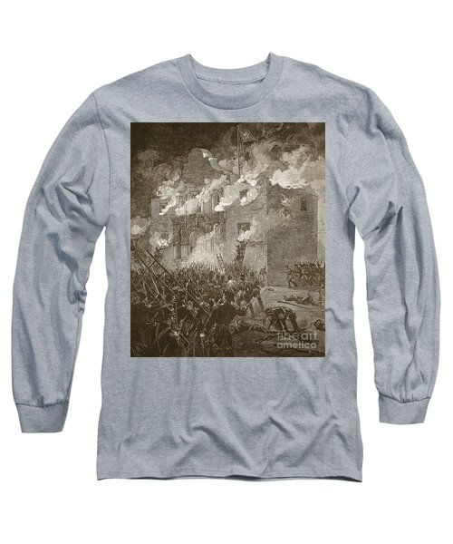 Fall Of The Alamo Long Sleeve T-Shirt