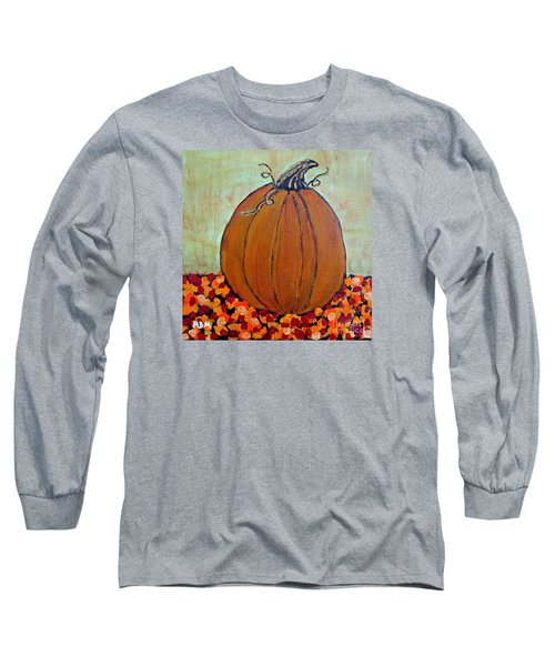 Fall Pumpkin Long Sleeve T-Shirt