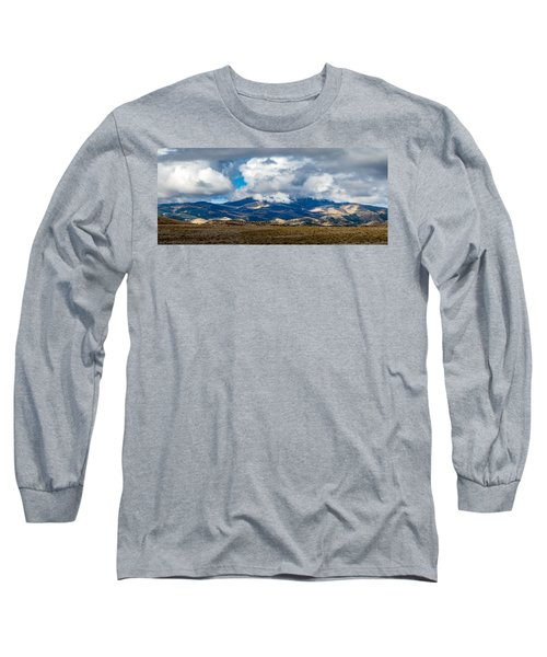 Fall Storm Clearing Off Pintada Mountain Long Sleeve T-Shirt