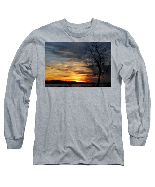 Fall Sunset Long Sleeve T-Shirt