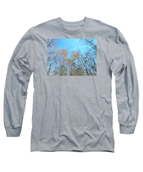 Fall Trees Long Sleeve T-Shirt by Kay Gilley