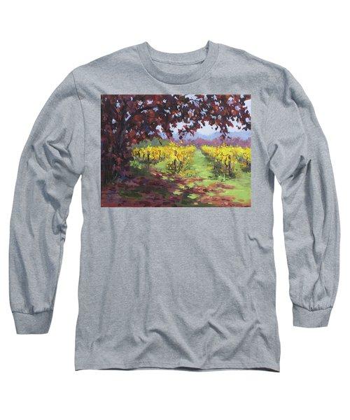 Fall Vineyard Long Sleeve T-Shirt