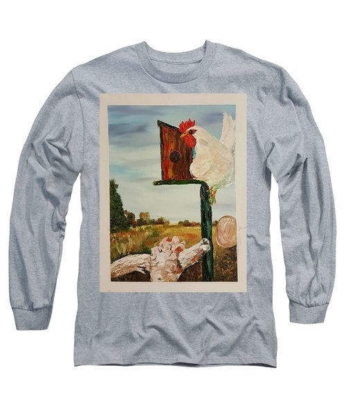 Fallen Egg 21 Long Sleeve T-Shirt