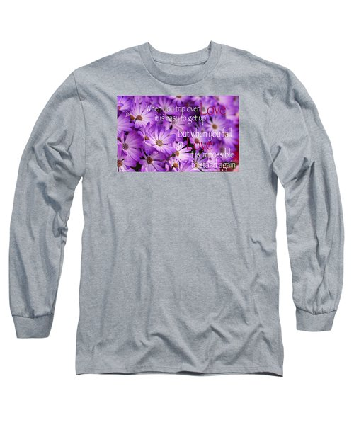 Falling First Long Sleeve T-Shirt