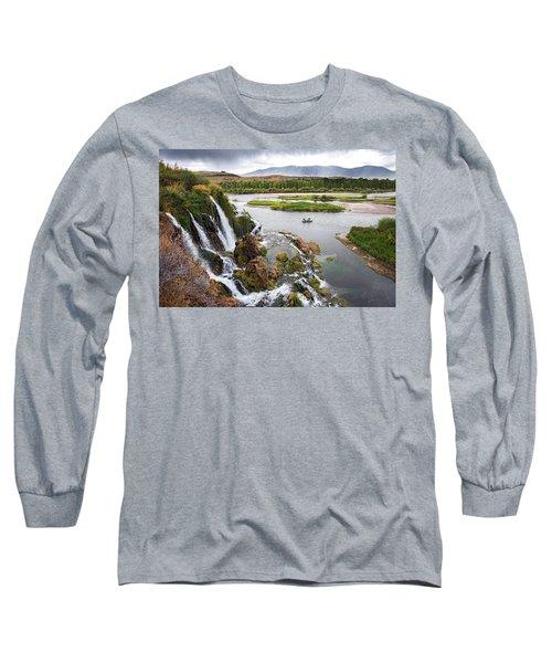 Falls Creak Falls And Snake River Long Sleeve T-Shirt