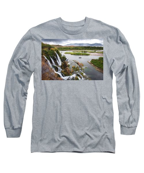 Falls Creak Falls And Snake River Long Sleeve T-Shirt