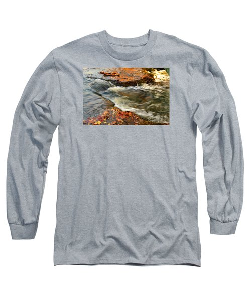 Falls Park Sunset Waterfall Long Sleeve T-Shirt