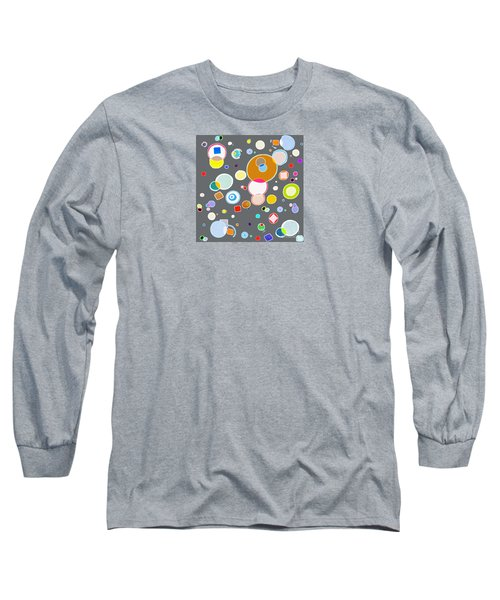 Long Sleeve T-Shirt featuring the painting Family by Beth Saffer