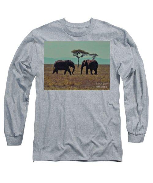 Family Long Sleeve T-Shirt by Karen Lewis