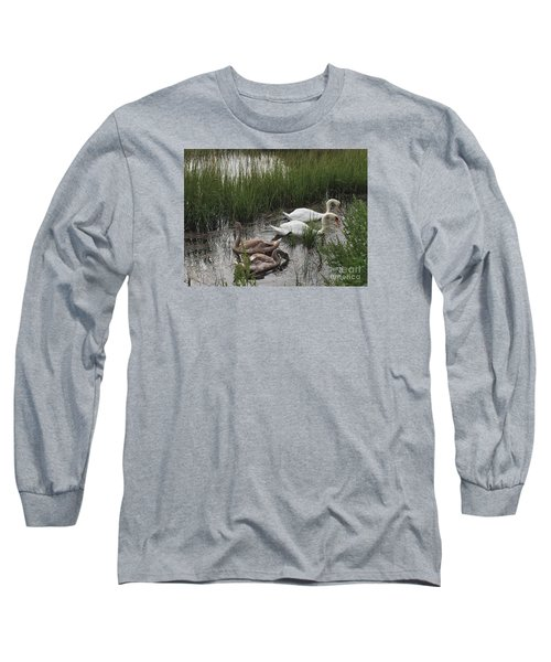 Family Time Long Sleeve T-Shirt by Beth Saffer