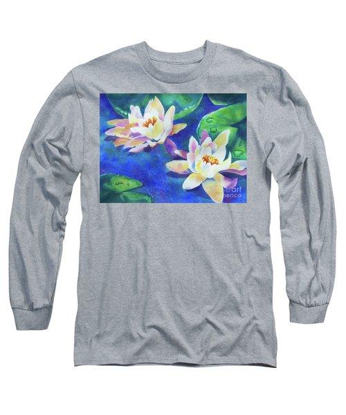 Fancy Waterlilies Long Sleeve T-Shirt