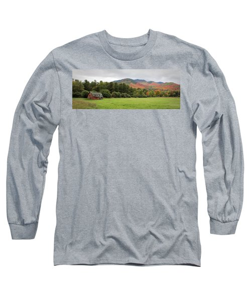 Farewell Red Barn Long Sleeve T-Shirt